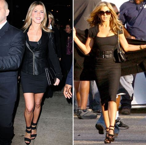 Can You Guess Which Black Dress Jen Aniston Wore On Set