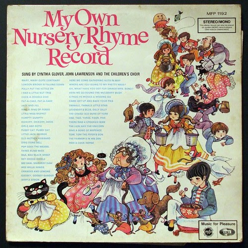 My Own Nursery Rhyme Record by Jacob Whittaker.
