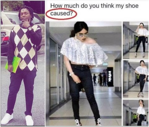 Singer Waconzy hits at Bobrisky over poor spelling