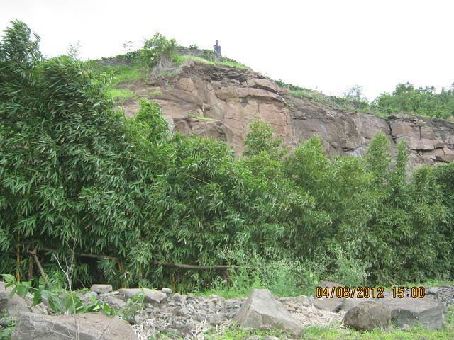 Cut, Demolished & Destroyed Hill of XRBIA Hinjewadi Pune - Nere Dattawadi, on Marunji Road, approx 7 kms from KPIT Cummins at Hinjewadi IT Park - 110