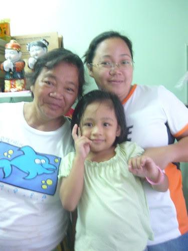 Nanay, Gabby and I