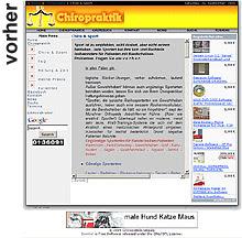 Relaunch von www.chiropraktikessen.de durch designbetrieb aus Essen