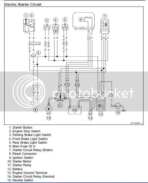 Wiring Diagram  34 Kawasaki Brute Force 750 Wiring Diagram
