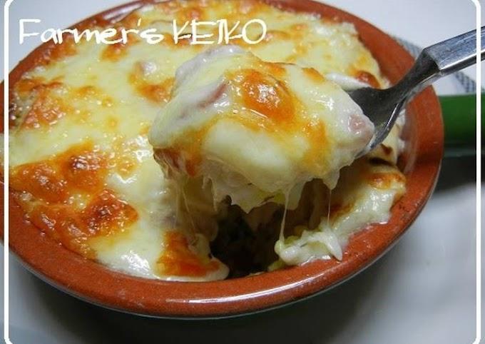 Recipe of Homemade [Farmhouse Recipe] An Easy Rice Gratin using Rice Flour
