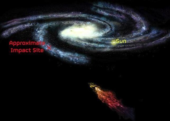 Una colosal nube de gas, en ruta de colisión con la Vía Láctea