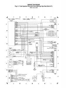 Volvo 240 (1993) - wiring diagrams - Fuel injector ECU (LH ...