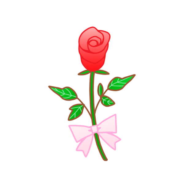 薔薇のイラスト かわいいフリー素材が無料のイラストレイン