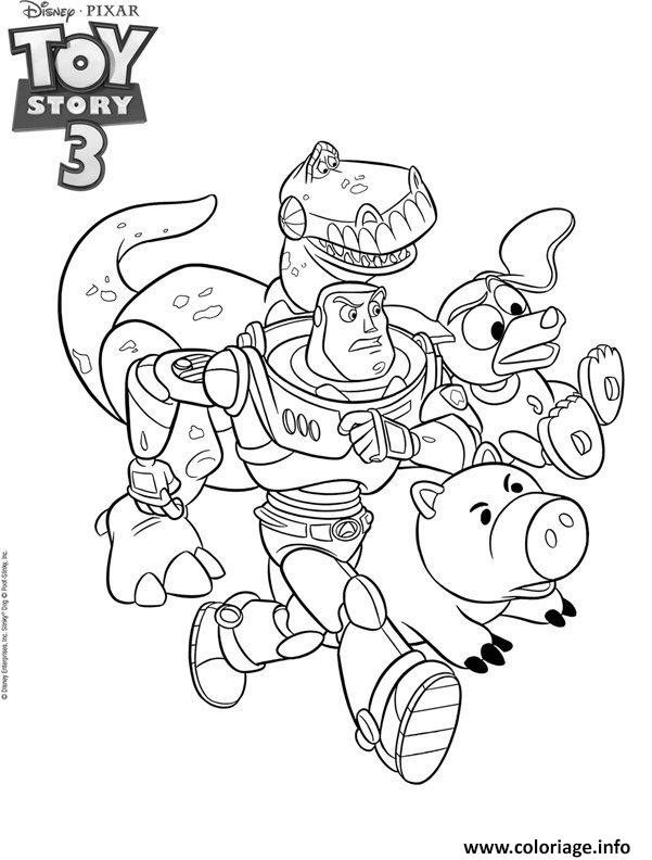 Coloriage Toys Story 3