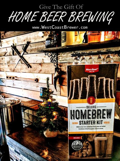 give  gift  home beer brewing homebrewing home