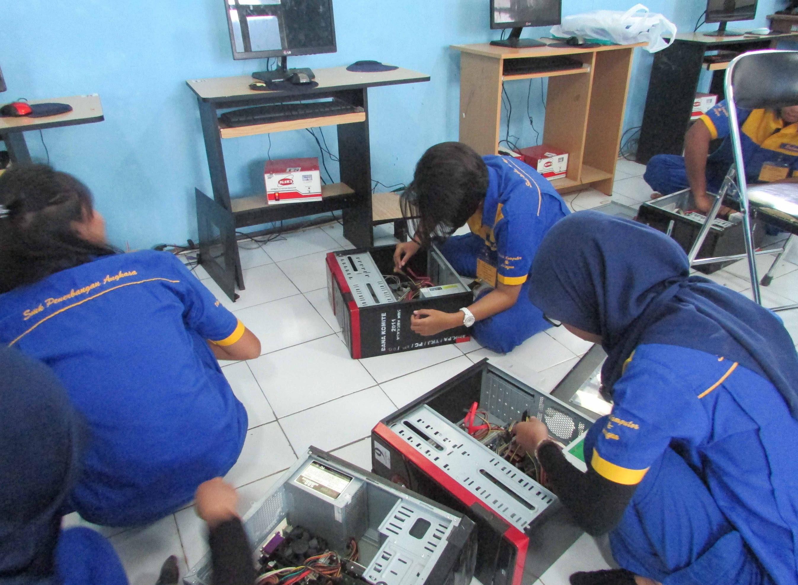 Jurusan Tkj Kerajinan Anak Tkj