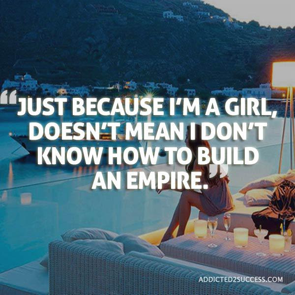 Just Because Im A Girl Doesnt Mean I Dont Know How To Build An