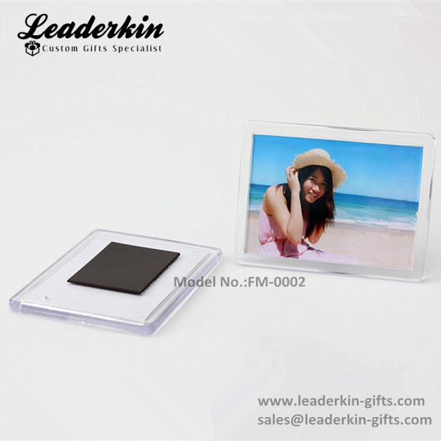 Cheap Blank Fridge Magnets Wholesale Clear Acrylic Photo Frame