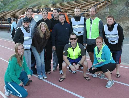 Team at Start Line