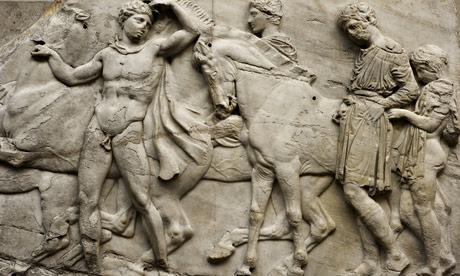 north frieze of Parthenon sculpture
