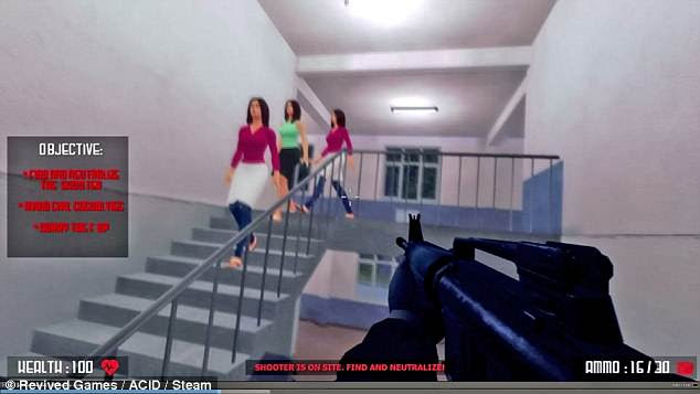 The developer had promised to add a ¿civilian survival mode¿  after launch, which would challenge players to survive for as long as possible inside an active school shooting