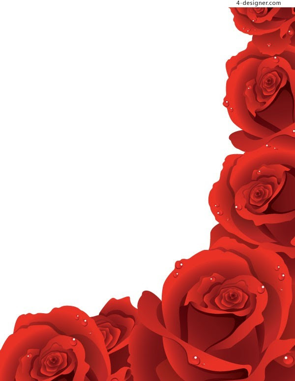Free Rose Flower Design Border Download Free Clip Art Free Clip Art On Clipart Library