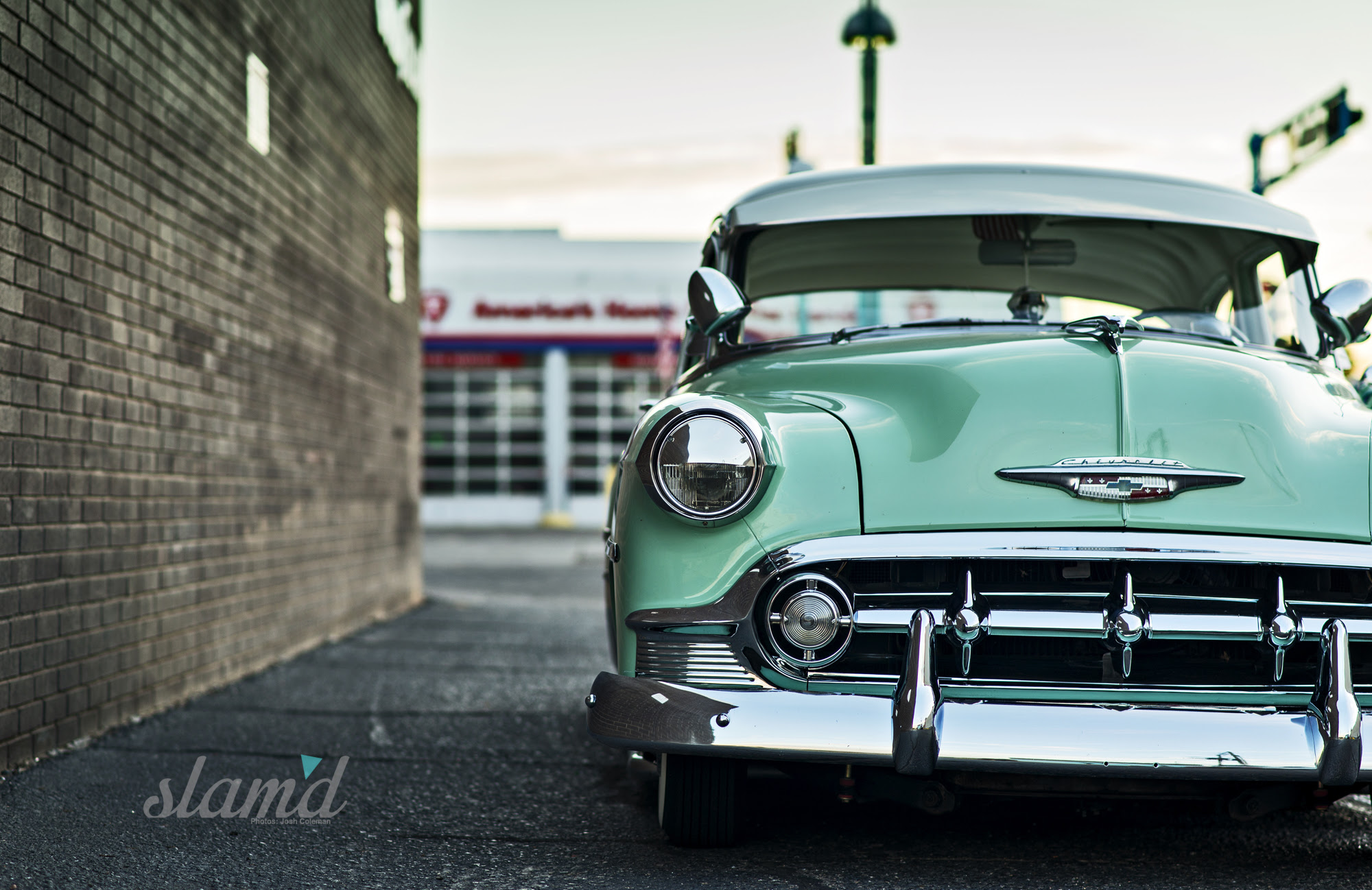 Bigin Beauty Russell Pereas 1953 Chevy Slamd Mag