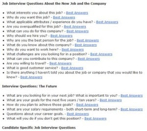 Top 10 Job Interview Questions - Security Guards Companies