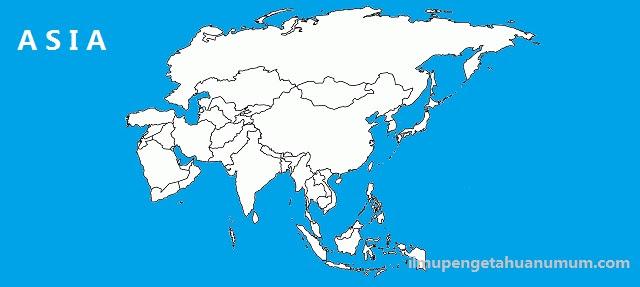 Negara negara di Benua Asia  beserta Ibukotanya