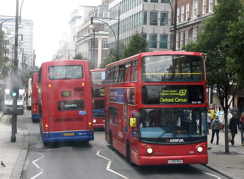 Oxford Street buses
