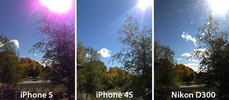 Apple users complained tracking radiation images of the iPhone 5