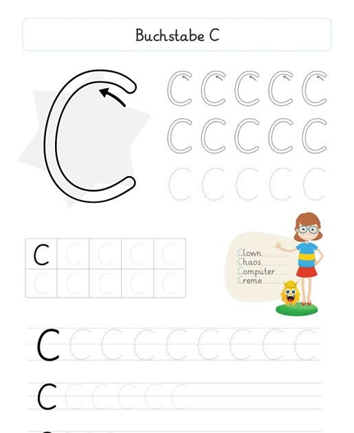 Alphabet kennenlernen