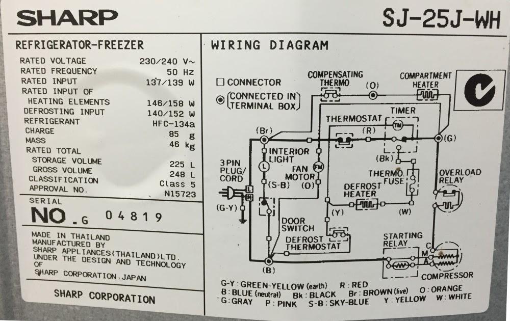 Wiring Diagram Of Refrigerator