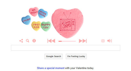 google doodle Valentines Day by Kara 2