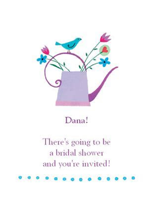 Bridal Shower Invitation   Bridal Shower Printable Card