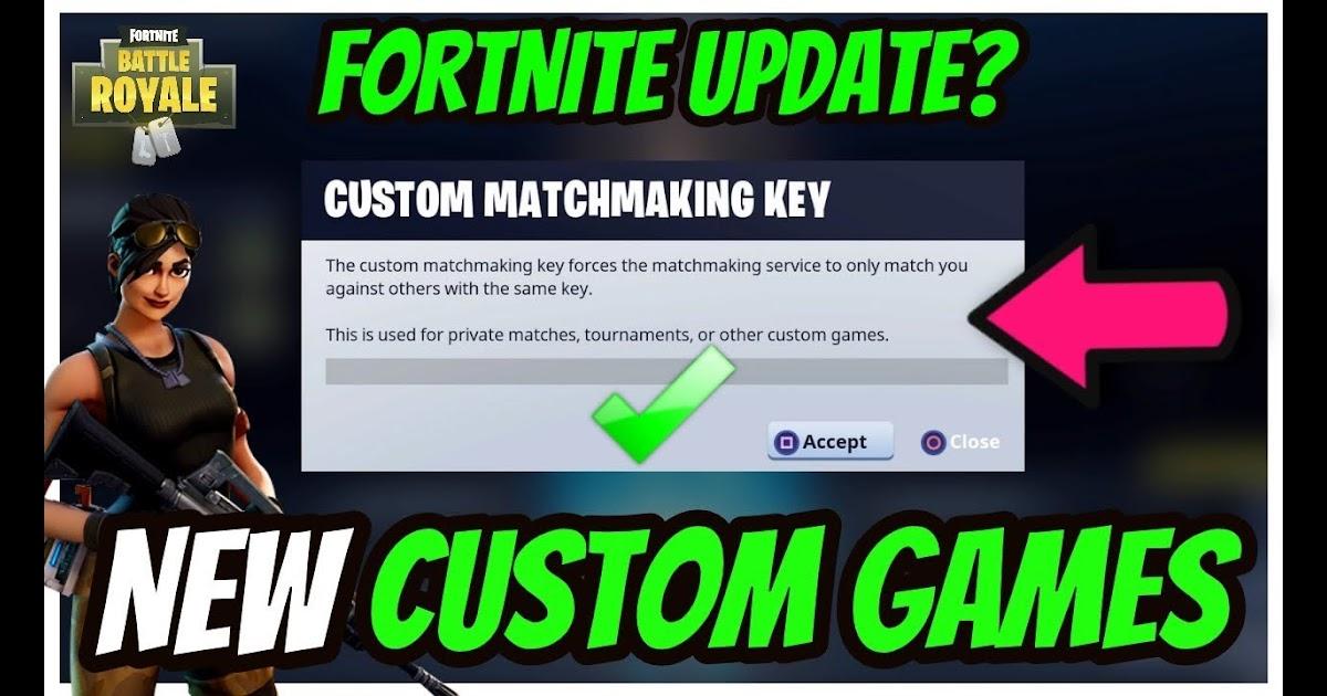 fortnite br custom matchmaking