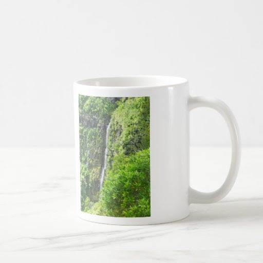 Beautiful Mug with Waterfall Theme