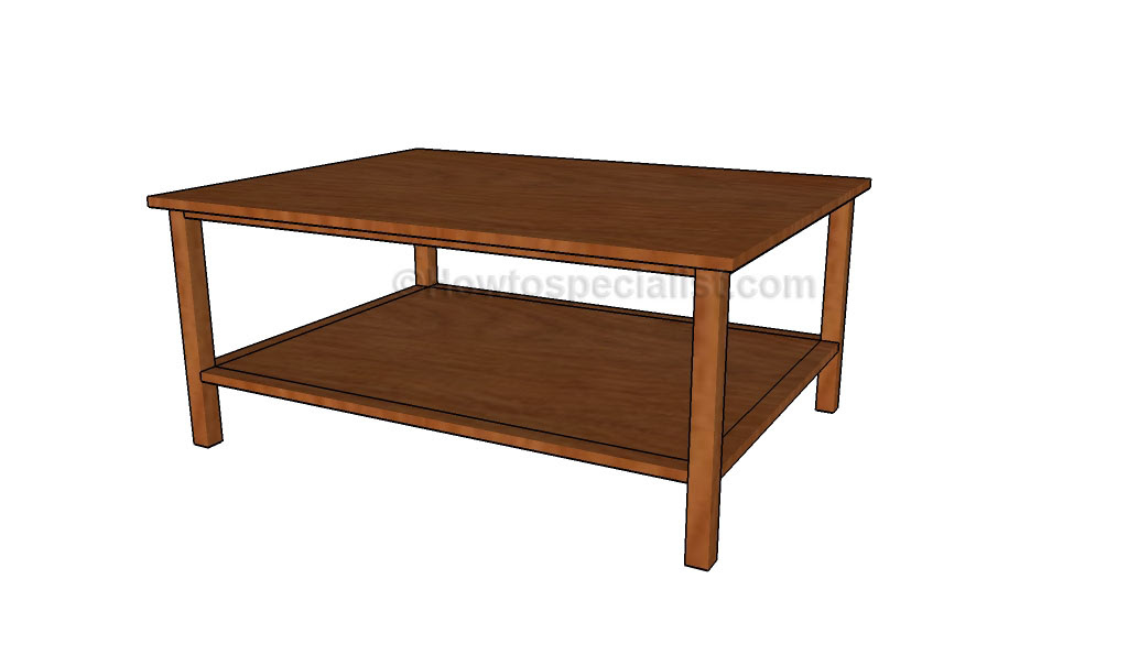 Diy coffee table plans   HowToSpecialist - How to Build ...