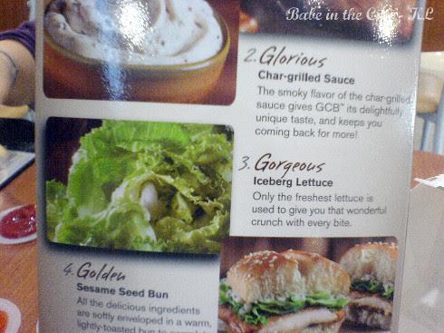 lettuce and bun