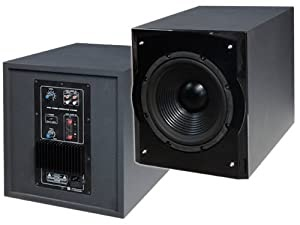 aktiv 25cm subwoofer 300w dragonaudio dream 20 mit auto on. Black Bedroom Furniture Sets. Home Design Ideas