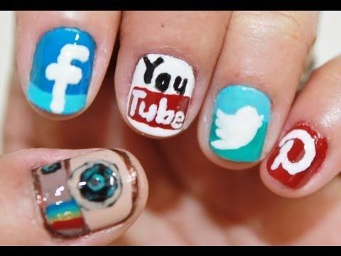 Blendblush Phone Apps Nail Art Instagram Facebook Twitter Pinterest