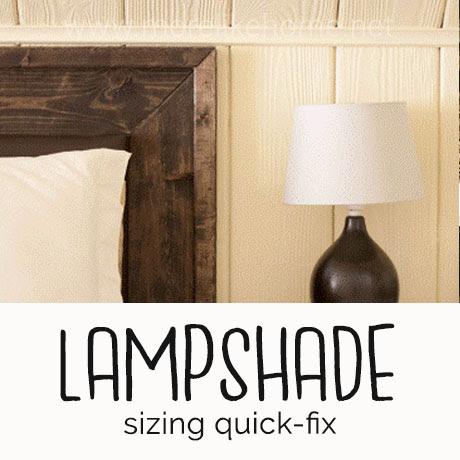 lamp shade fix