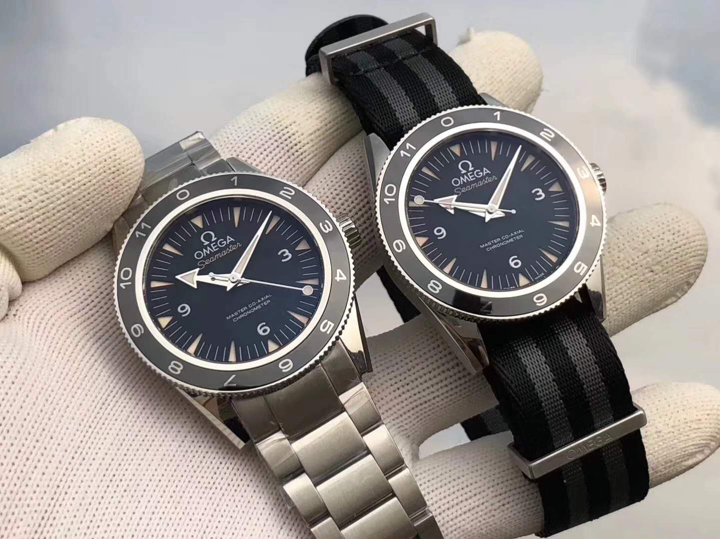 Omega Spectre Steel and Nato