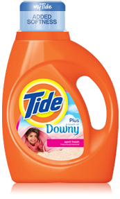 Tide Plus a Touch of Downy