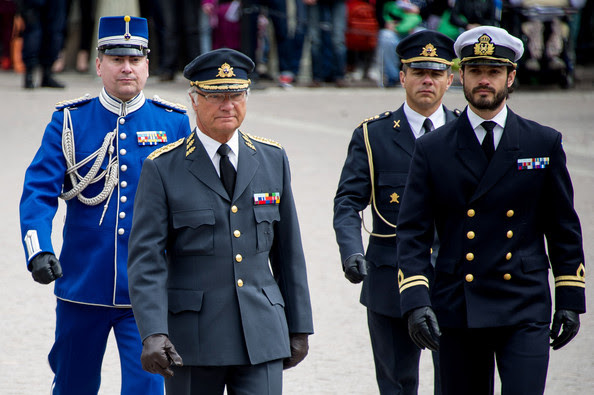 Prince Carl Philip - King Carl XVI Gustaf Celebrates His Birthday