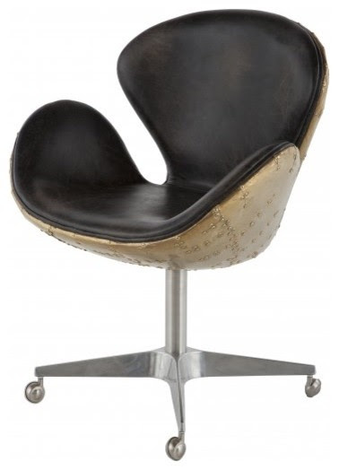 Holden Desk Chair - contemporary - task chairs - - by Jayson Home