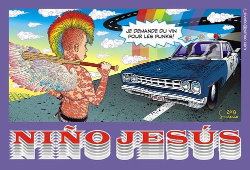 Je demande du vin pour les Punks! 2 by Niño Jesús