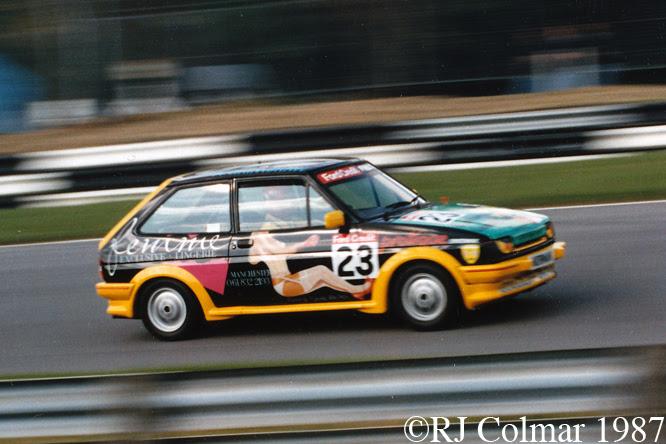 Ford Fiesta XR2, Brands Hatch