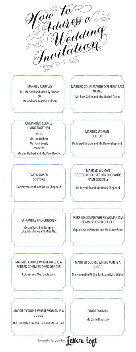 How To Address An Envelope for a Wedding Invitation