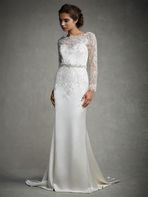 30 Exquisite & Elegant Long Sleeved Wedding Dresses : Chic