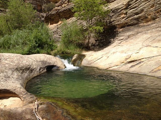 Death Hollow swim hole