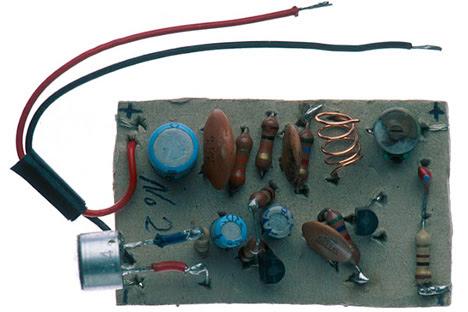bug or transmitter