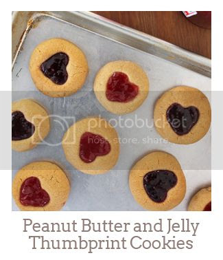 """""""Peanut Butter and Jelly Thumbprint Cookie"""""""
