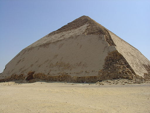 Snefru's Bent Pyramid in Dahshur