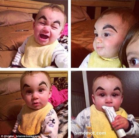 wajah  bayi  bikin ngakak edisi ortu narsis