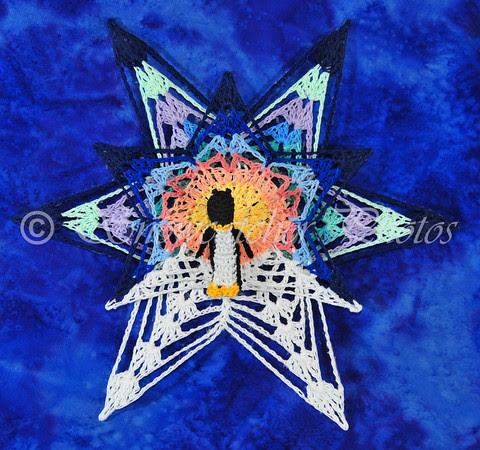 Northern Lights Snowflake